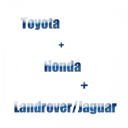TOYOTA+HONDA+JLR Software License Package Free Shipping