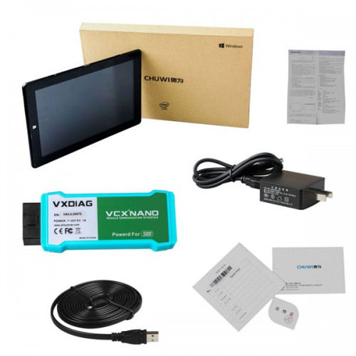Promotion! VXDIAG VCX NANO for LandRover/Jaguar 2 in 1 SDD WIFI Full System Diagnostic Scan Tool with 10inch Tablet