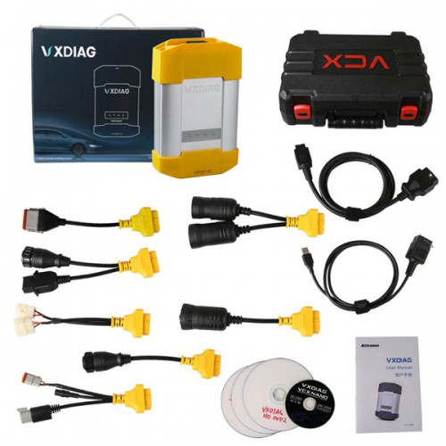 New Arrival WIFI VXDIAG VCX HD Heavy Duty Truck Diagnostic System For CAT,VOLVO,HINO,Cummins,Nissan Free Shipping