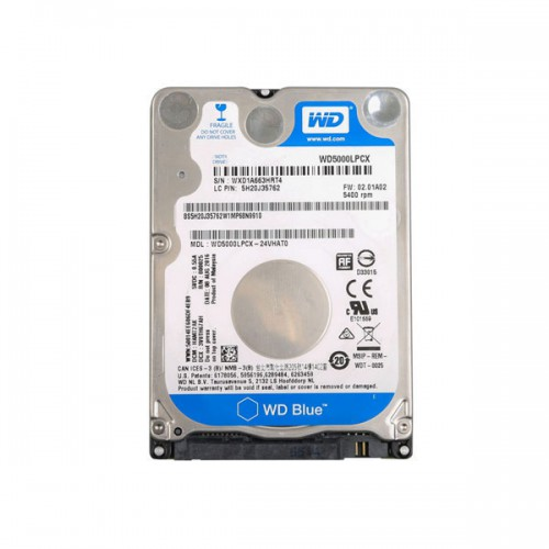 Hard Drive with V153 VXDIAG JLR DOIP Software