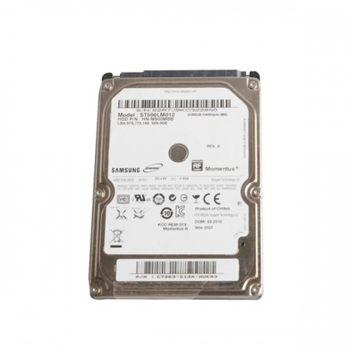 Blank 500GB Internal Hard Disk with SATA Port
