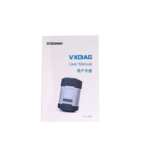 New ALLSCANNER VXDIAG MULTI Diagnostic Tool for BMW and BENZ Without HDD Software