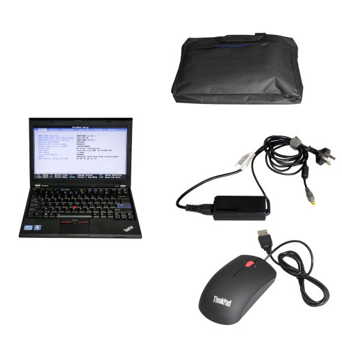 Full Set Lenovo X220 Laptop with 500GB HDD Pre-installed Software for WIFI VCX NANO VW ODIS, USB VCX NANO Toyota or Volvo