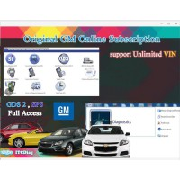 Original GM Online Subscription for One Year Work with VXDIAG VCX NANO GM / VXDIAG Multi incl GM