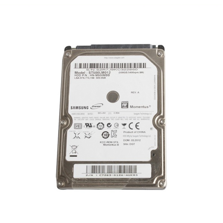 2019 7 500GB Software HDD with Keygen for VXDIAG Benz Star C6
