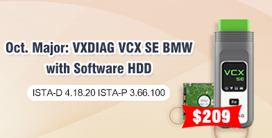 VXDIAG VCX SE BMW with Software HDD