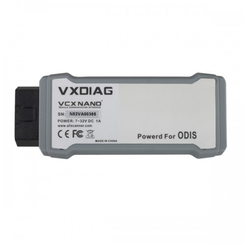 VXDIAG VCX NANO 5054A ODIS V2.0 Support UDS Protocol with Multi-languages(Choose SP238-W)