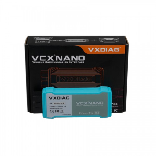 (Ship from US) WIFI Version VXDIAG VCX NANO 5054 ODIS V5.1.6 Support UDS Protocol and Multi-language Free Shipping