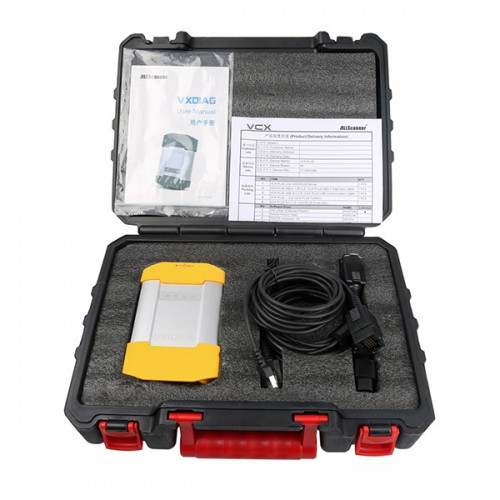 New VXDIAG VCX DoIP JLR Diagnostic Tool for Jaguar Land Rover with V153 DOIP Software HDD