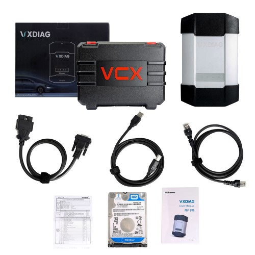 New ALLSCANNER VXDIAG MULTI Diagnostic Tool for BMW and BENZ With 1TB Hard Drive for BMW/BENZ 2 in 1