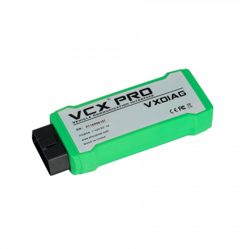 VXDIAG VCX NANO PRO Diagnostic Tool with Free 7 Software For GM FORD MAZDA VW HONDA VOLVO TOYOTA JLR with 2TB HDD