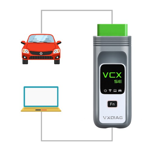 2020 VXDIAG VCX SE PRO OBD2 Diagnostic Tool with 3 Free Car Authorization Upgrade Version of VXDIAG VCX NANO PRO