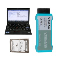 Full Set Lenovo X220 Laptop with 500GB HDD Pre-installed Software for WIFI VCX NANO VW, USB VCX NANO Toyota or Volvo