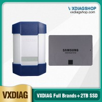 Mid-Year Pro VXDIAG Multi Tool for Full Brands with 2TB SSD incl JLR HONDA GM VW FORD MAZDA TOYOTA Subaru VOLVO BMW BENZ