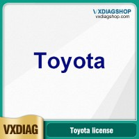 VXDIAG Multi Diagnostic Tool Software License for Toyota