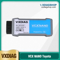 (Ship from US) VXDIAG VCX NANO for TOYOTA TIS Techstream V15.00.026 Compatible with SAE J2534 Free Shipping