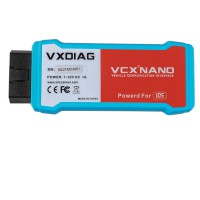 (Ship from US,No Tax) VXDIAG VCX NANO for V119 Ford IDS / V119 Mazda IDS 2 in 1 Support WIFI