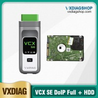 Mid-Year Pro 2021 New VXDIAG VCX SE DOIP Full Brands with 2TB Software HDD for JLR HONDA GM VW FORD MAZDA TOYOTA Subaru VOLVO BMW BENZ