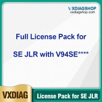 VXDIAG Full Brands Authorization License Pack for VCX SE JLR with SN V94SE****