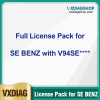 Factory Promotion VXDIAG Full Brands Authorization License Pack for VCX SE BENZ DOIP with SN V94SE****