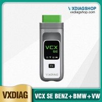 VXDIAG VCX SE DoIP Hardware for BMW, BENZ and VW 3 in 1 with Free DONET Authorization