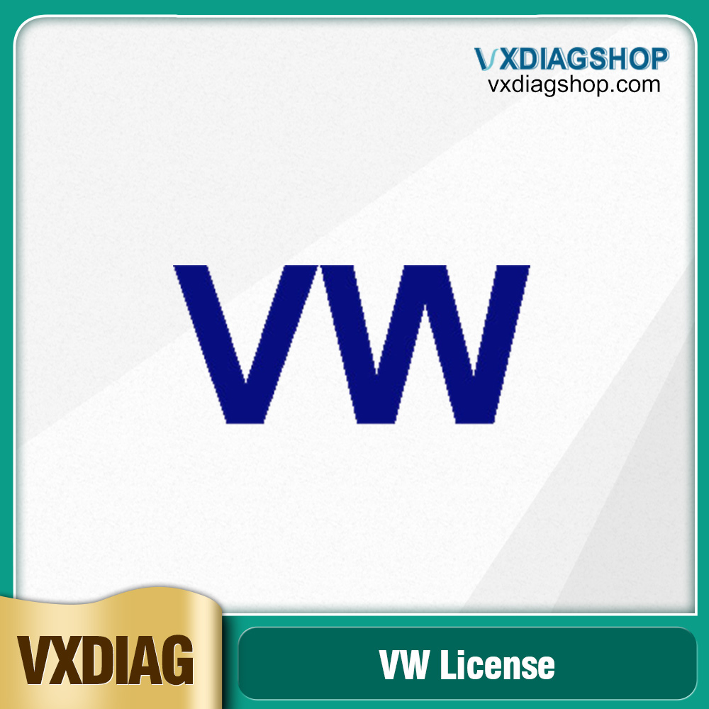 Factory Promotion VXDIAG Multi Diagnostic Tool Software license for VW