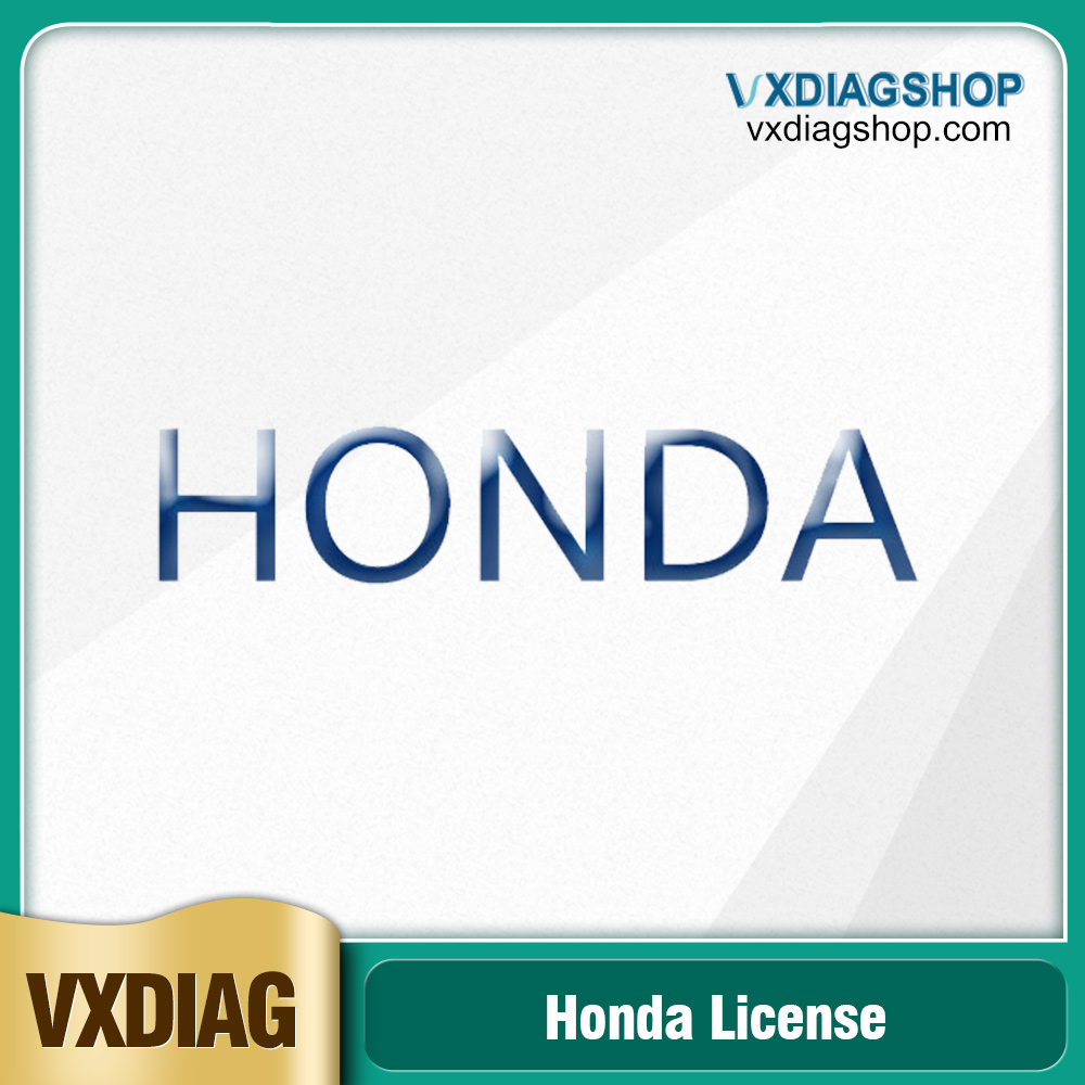Factory Promotion VXDIAG Multi Diagnostic Tool Software license for Honda