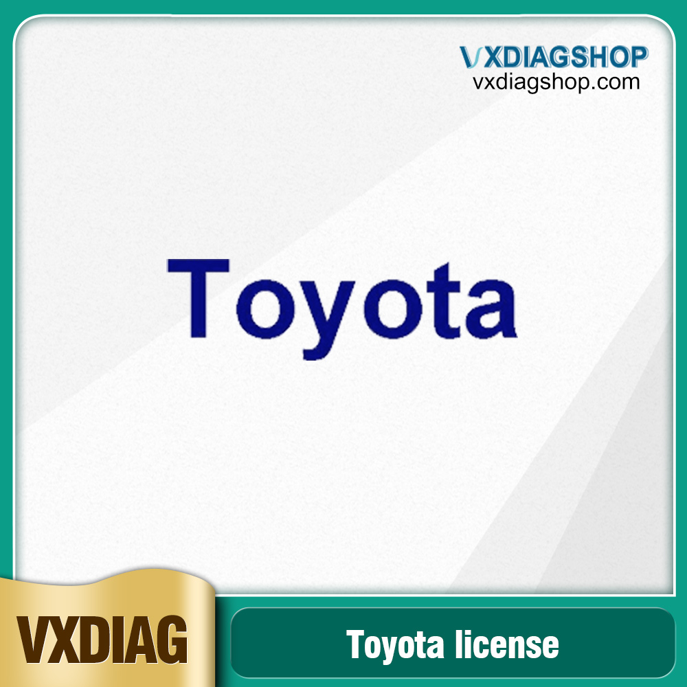 Factory Promotion VXDIAG Multi Diagnostic Tool Software License for Toyota