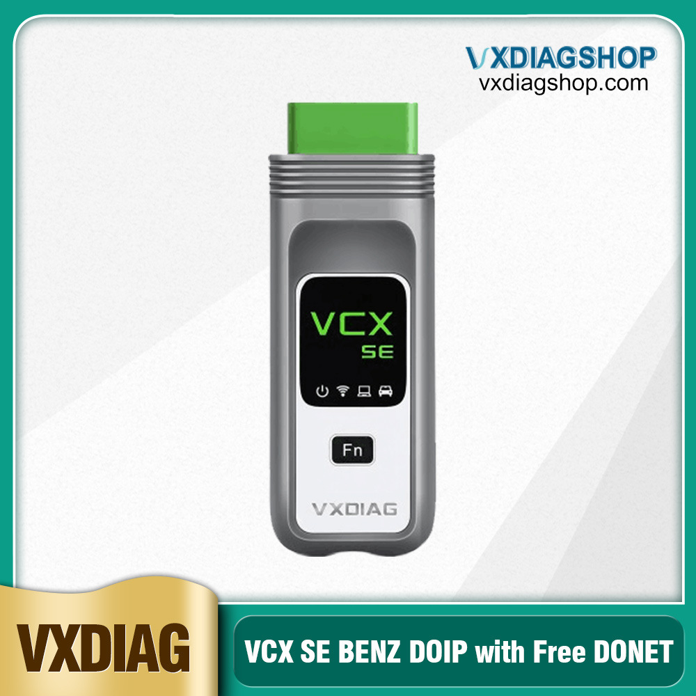 2020 New VXDIAG VCX SE for BENZ DoIP Hardware Support Offline Coding/ Remote Diagnosis Benz with Free DONET Authorization